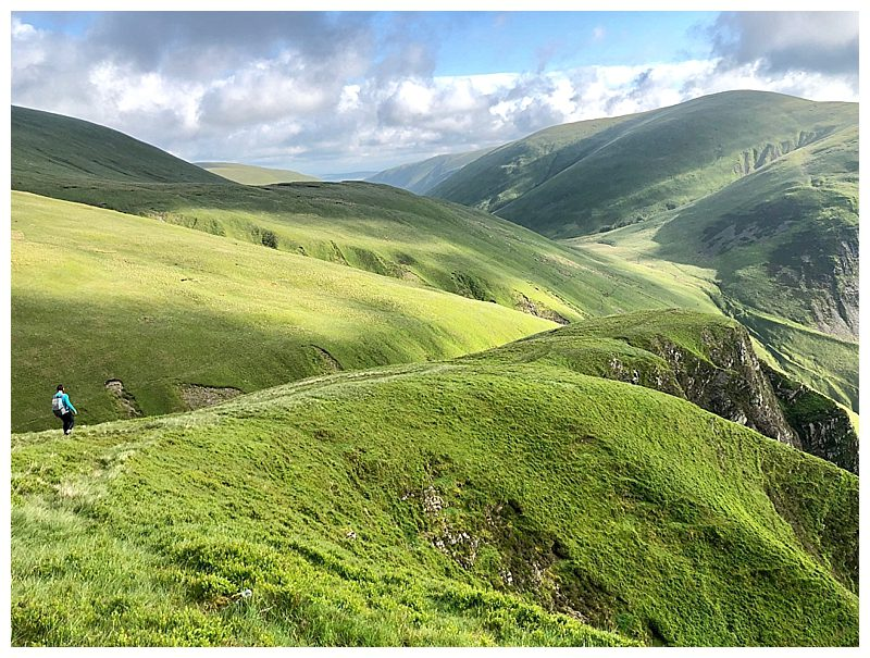 Walking-The-Howgill-Fells