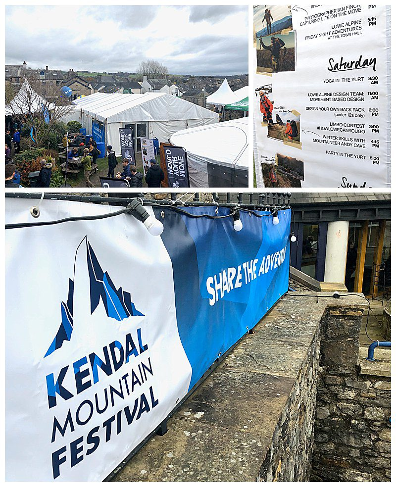 Banners for Kendal Mountain Festival